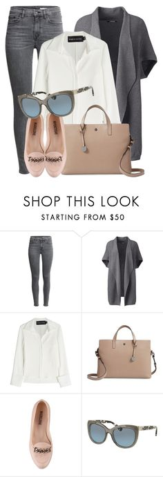 """""""Work Day"""" by smartbuyglasses ❤ liked on Polyvore featuring Lands' End, Brandon Maxwell, Lodis, Coach, gray and plus size clothing"""
