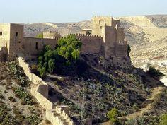 Almería - Alcazaba Photo © Robert Bovington Abd al-Rahman — the first caliph of Al-Andalus — ordered the construction of the Alcazaba in 955. http://bobbovington.blogspot.com.es/ http://www.tablondeanuncios.com/venta-casas-chalets-en-ugijar-granada/casa_adosada_en_ugijar_-2382039.htm https://sites.google.com/site/spanishimpressions/home http://astore.amazon.co.uk/spanisimpres-21/