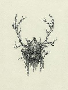 """""""Shaman Mask"""" by Yaroslav Gerzhedovich"""