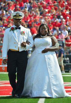 Courtney Pearson, first African American homecoming queen at Ole Miss, 2012
