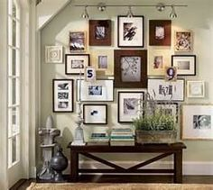 picture arrangements on walls - Bing Images