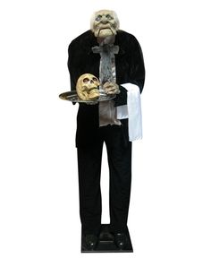 Animated Life-sized Igor the Greeter Prop - a little bit of humor  #Halloween decorations