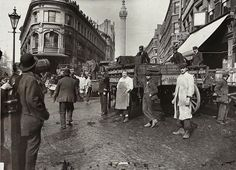 Billingsgate fish market, c. 1910