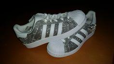 Adidas Superstar glitzer Edition love it!