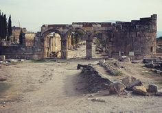 The Gateway to HadesThe Ploutonion or Pluto's Gate was founded around 190 BC at the ancient city of Hierapolis  http://www.deadlive.co.uk/