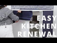 Se hvordan du enkelt fornyer kjøkkenet ditt med selvklebende folie her    Besøk Norges største utvalg av folie hos www.lindasdekor.no    #kontaktplast #dekorfolie #selvklebendefolie #folie #møbler #interiør #tips #inspirasjon #oppussing #renovering #kjøkken #kjøkkeninspo #kjøkkenskap