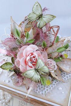 2nd Birthday, Birthday Cards, Exploding Box Card, Explosion Box, Floral Wreath, Wreaths, Blog, Decor, Bday Cards