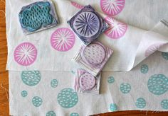Block Printing - great ideas & inspiration
