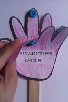 lesson - serving one another