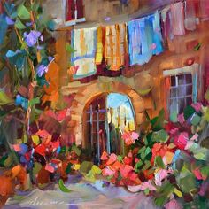 Monday in Italy  Dreama Tolle Perry  DailyPaintWorks.com