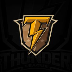 """War Thunder League"" World Online Tournament Logo on Behance Logo Esport, Art Logo, Fantasy Logo, Lightning Logo, Game Logo Design, Esports Logo, Sports Team Logos, Cartoon Logo, War Thunder"