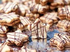 German Christmas Cookies | Nougat-Sternchen | German Christmas Cookies