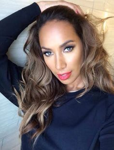 Leona Lewis. want my hair this color.