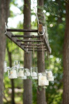 Verlichting | Kaasjes | Ladder | Hangend | Origineel | Licht | Lamp