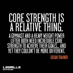 It doesn't matter who you are, or what you do. We all need a strong core. #buildingblock