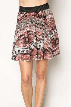 Mosaic Skater Skirt @ Everything5pounds.com