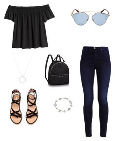 """Midweek"" by palomita2906 on Polyvore featuring moda, Christian Dior, Roberto Coin y Louis Vuitton"