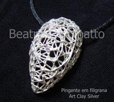 Art Clay Silver - Filigrana by Beatriz Cominatto, via Flickr