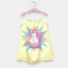 Unicorn Girl's Dress
