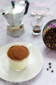 Crema tiramisù Good Food, Yummy Food, Tiramisu, Panna Cotta, Pudding, Oreo, Ethnic Recipes, Desserts, Dessert Ideas