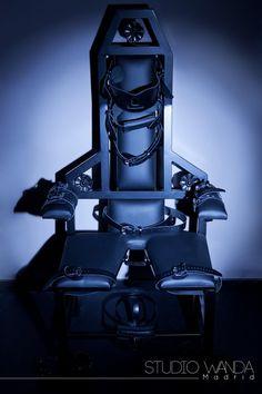 Story prop - Bondage Chair By Fetters Wanda Madrid