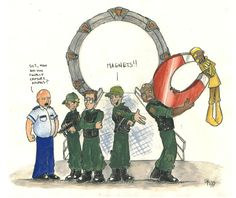 How SG1 really caught Apophis :)
