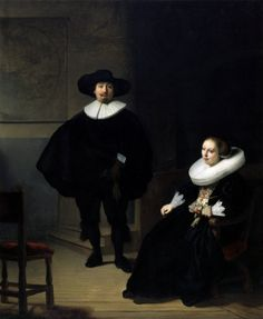 "Rembrandt's ""A Lady and Gentleman in Black"" was one of two of the artist's oil paintings that were cut from their frames. The F.B.I. said Monday that it believes it knows the identity of the thieves."