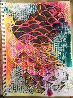 Carmen B. Norris: Art Challenge- 15 Days of 15 minute Mixed Media-2/...