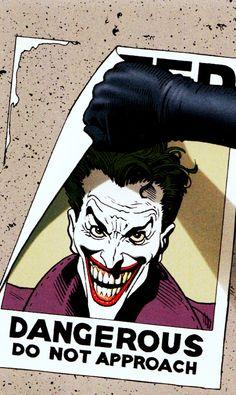 withgreatpowercomesgreatcomics: Batman: The Killing Joke Joker Comic, Joker Art, Batman Art, Comic Manga, Comic Art, Comic Books, Joker Makeup, Deadshot, Batman Universe
