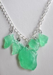 DIY sea glass. See how to use epoxy resin to make your own sea glass. How to make your own sea glass.