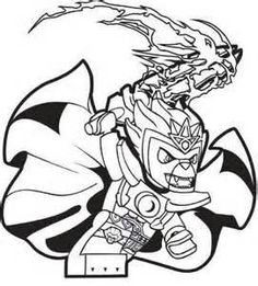 lego chima laval coloring page chima coloring book - Lego Chima Coloring Pages Cragger