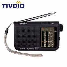 New TIVDIO V-117 Products Presale 3 Band FM / AM / SW Portable Radio Battery Powered Emergency Radio Receiver F9207