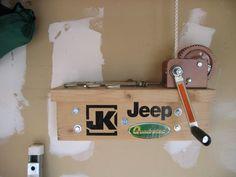Hardtop hoist/storage write-up Jeep Jk, Jeep Wrangler Hard Top, Jeep Hard Top, Jeep Garage, Jeep Rubicon, Jeep Truck, Jeep Wrangler Accessories, Jeep Accessories, Jeep Hardtop Storage