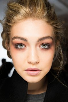 Exclusive: Gigi Hadid's Winter Beauty Routine via @byrdiebeauty
