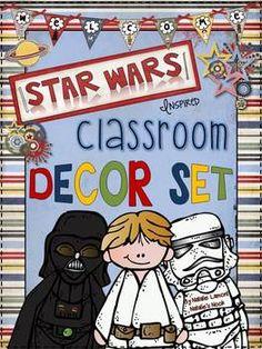 Star Wars Inspired Classroom Decor Set