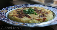 Trinxat - An Andorran potato/cabbage/bacon cake.
