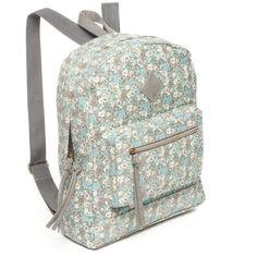 Red Camel Floral Floral Print Backpack (695 UYU) ❤ liked on Polyvore featuring bags, backpacks, floral, knapsack bag, floral backpack, rucksack bags, day pack backpack and floral bags