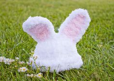 Adorable fluffy bunny beanie, crochet hat on Etsy, $25.00