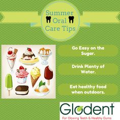 Summer Oral Tips for everybody.   #oraltips