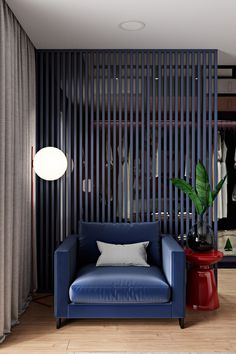 2 Cool Home Interiors With Art That Pops On Concrete & Pvc Wall Panels Designs For Office | Wall panels design | Pvc wall ...