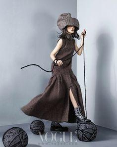 Wool Evolution, Vogue Korea November 2013