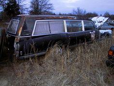 1968 Oldsmobile hearse