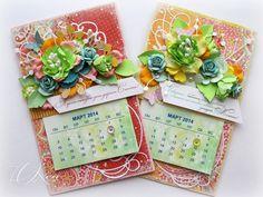О'Креативинки: Календарь-магнит на холодильник 11*18см