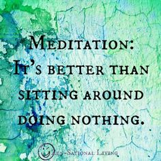 Meditation, nothing & everything at once: https://www.facebook.com/TM.UK.Women