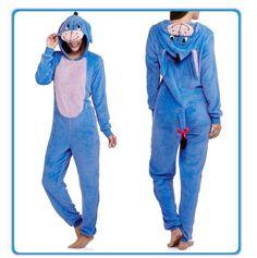 Eeyore One Piece Womens Disney Costume Pajamas union suit Hoodie Winnie The  Pooh  Disney   5e5c05e1f