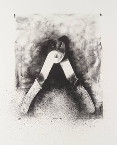Jim Dine '[no title]', 1973 from Ten Winter Tools, lithograph on paper © Jim Dine
