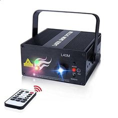 #3: Laser Light 40 Patterns LED Projector DJ Gear Stage Lighting Red and Green Show With Blue Auto Sound active Professional Disco DJs Family Party Clubs and Wedding This is ranked high among the best online products in Musical Instruments category in USA. Click below to see its Availability and Price in YOUR country.