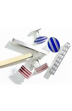 David Donahue Sterling Silver Tie Clip | Nordstrom