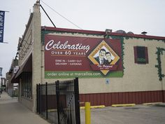Father & Son Pizza Chicago, Illinois by Cragin Spring, via Flickr