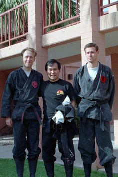 Someya Sensei with Mats and Henrik from Sweden.